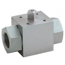 """3/8"""" x 72mm BSPP 2-Way Top Mountable for Actuation, Hydraulic Ball Valve"""