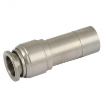 12mm x 8mm One Touch S/Steel Push-In Stem Reducer