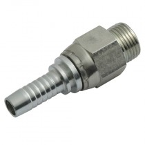 """1.1/16"""" x 3/4"""" HT, O'Ring Boss, Male Straight"""