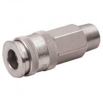 """1/4"""" BSPT Male Thread PCL Air Line MF Coupling"""