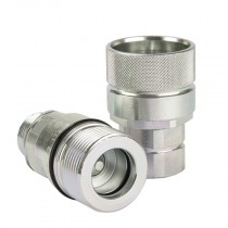 """14S x M14x1.5 - 1/2"""" Body QHPA Series Male Coupling, DIN2353 Thread"""
