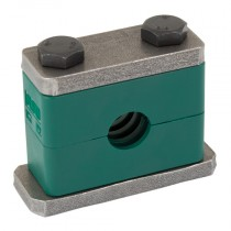 10mm Series Polypropylene Clamps with Hex Head Bolts - Group 1, Series C