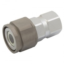 """1/4"""" BSPP PST4 Series, Screw to Connect Flat Face Coupling"""