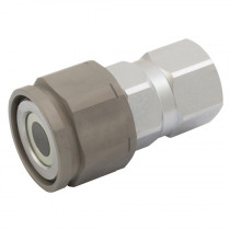 """3/4"""" BSPP PST4 Series, Screw to Connect Flat Face Coupling"""