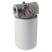 """1"""" BSPP x 25UM - 35LPM In-line Return, Spin-On Filter Assembly"""